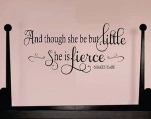 ... Quote Decal, Nursery Wall Decal, Girls Vinyl Decal, Baby Girl Decal