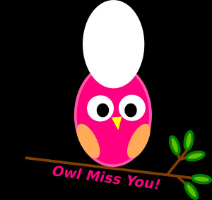 We Will Miss You Clip Art