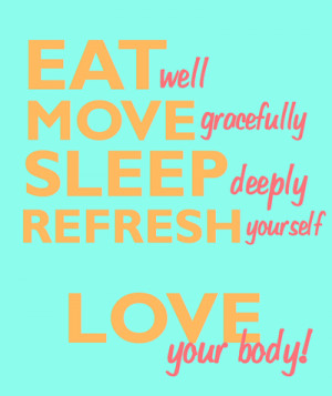 Zen & Empowering Way to Reaching Your Fitness Goals !