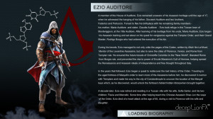 Assassin's Creed Character Bio Booklet. MUST HAVE FOR AC FANS!