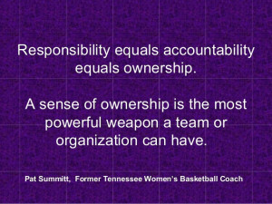 Quotes On Ownership And Accountability ~ Accountability: Taking ...