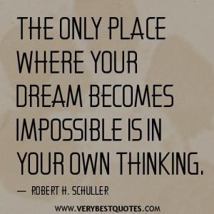 Own Thinking~Robert H. Schuller~