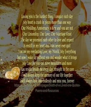 Death of a loved one quotes poems and resources