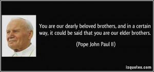 Pope John Paul II Quotes