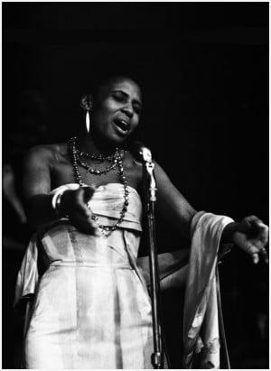Marshall, 1960, Miriam Makeba, Monterey Jazz Festival; Miriam Makeba ...
