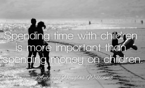Spending Time With Children…