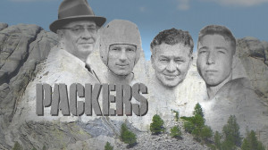 Fans place Brett Favre and Reggie White onto Packers' Mount Rushmore