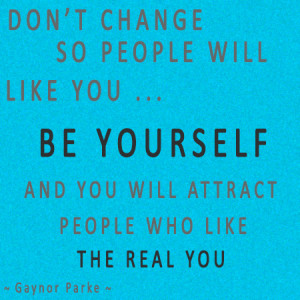 Inspirational quote inspiring quotes be yourself