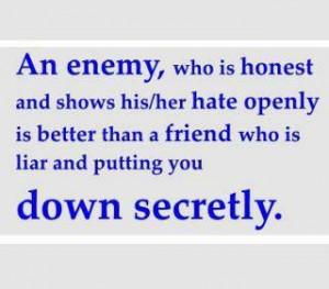 Friend Who Is Liar