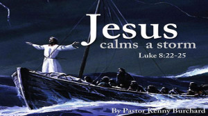 Jesus Calms The Storm Mark...