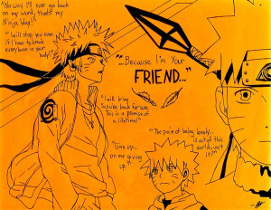 Because I'm Your Friend... ~Naruto Tribute by Kisameshark14