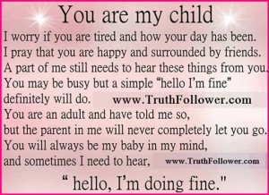 ... Children Quotes - I Love You, For My Child, Family Quote about Love