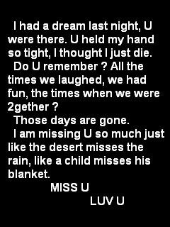 ... So Tight, I Thought I Just Die. Do U Remember. ~ Missing You Quote