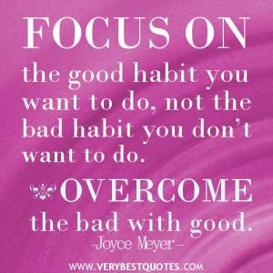 joyce meyer quotes   good habit quotes, Joyce Meyer Quotes ...