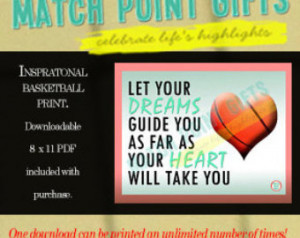 ... night gift, sports motivational gift, motivational quote, printable