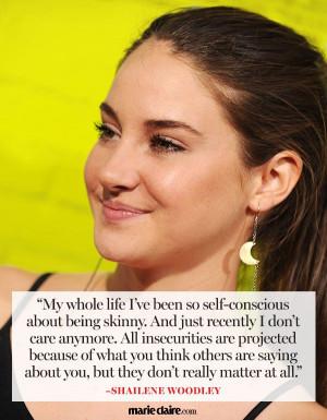 Shailene Woodley Quotes - Marie Claire