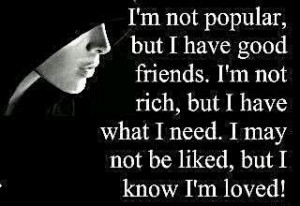 am not popular, but I have good friends | Good English Motivational ...
