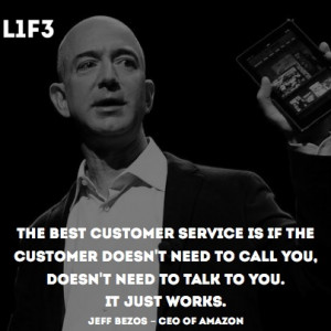 quotes #quote #citazione #amazon #bezos #customer #service