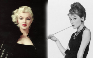 Famous Quotes Marilyn Monroe And Audrey Hepburn