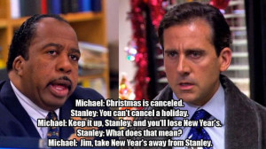 ... offices funny quotes hilarious happy holiday new years michael scott