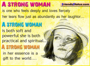 strong woman – Image Quotes