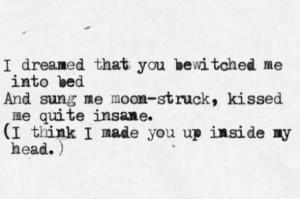 My favourite, Sylvia Plath