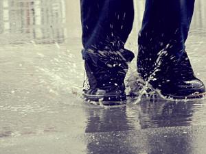Playing In The Rain Myself playing in the rain