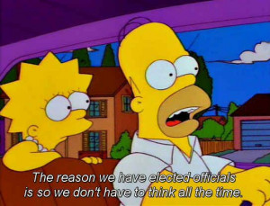 The 100 Best Classic Simpsons Quotes- hmmm?