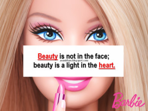 STAY BLESSEDBarbie Wants To Be MeDear Society: We don't have to look ...