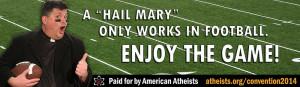 Keywords: American Atheists, billboard, Super Bowl, Superbowl, Seattle ...