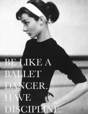 Audrey Hepburn on dance