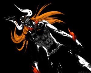Ichigo Full Hollow by zawiasFX