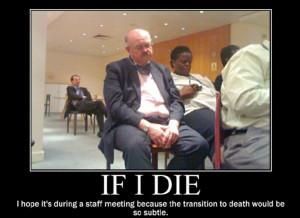 Staff-meeting torture