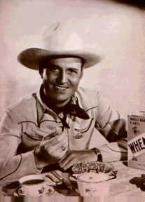 Gene Autry Eating Wheaties