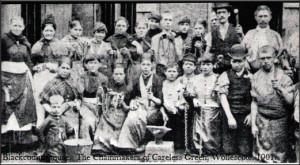 Lye, Wollescote, Foxcote, Two Gates, and Fatherless Barn.