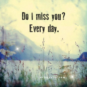 April Dawn: Do I miss you? Every day.