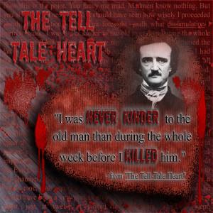 ... Scrapbooks >> Edgar Allan Poe - Tell Tale Heart - Page 1