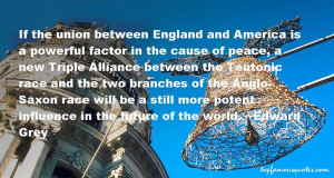 If the union between England and America is a powerful factor in the ...