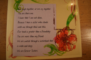 Quotes And Poems About Sisters