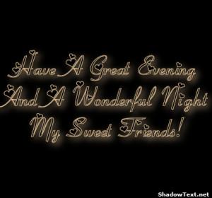 Have Wonderful Friday Sweet