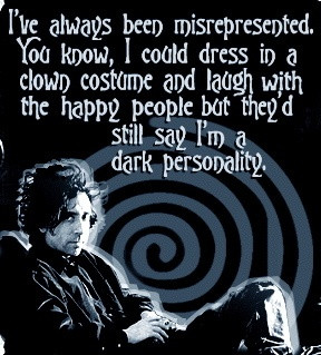tim burton quote we could do art with everyone's