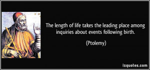 More Ptolemy Quotes