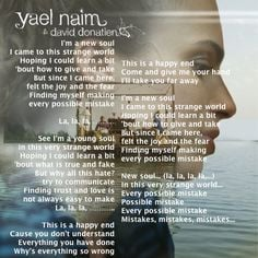 New Soul ~ Yael Naim favorite song More