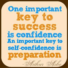 ... is preparation. -Arthur Ashe #job #search #motivational #quotes More