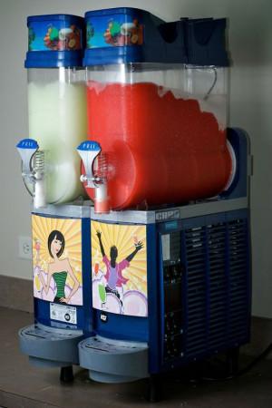 Gefrorene Getränk-Maschine des Faby Blau-2 Schüssel