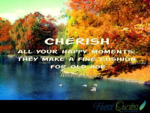 cherish quotes
