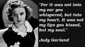 Judy Garland quote #2