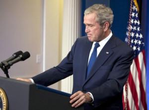 Messy Funny George Bush
