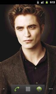 Edward Cullen Live Wallpaper - screenshot thumbnail