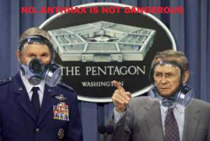 ANTHRAX NOT DANGEROUS